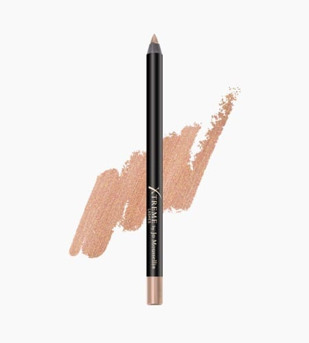 Gel Eyeliner Pencil Rose Gold Glideliner And Swatch 450x500 1 - Glideliner Long Lasting Eye Pencil Rose Gold