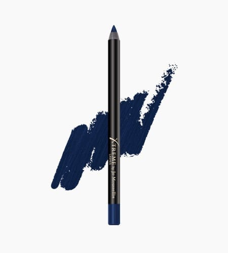 Smudge Proof Eyeliner Midnight Blue Glideliner And Swatch 450x500 1 - Glideliner Long Lasting Eye Pencil Midnight Blue